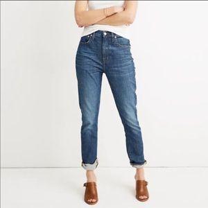 EUC Madewell slim boy jean size 32 medium wash